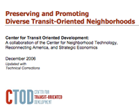 Preserving and Promoting Diverse TOD
